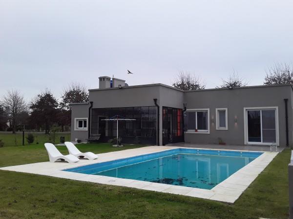 Hermosa Casa En Country Las Cañuelas